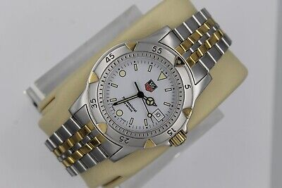 Tag Heuer WD1221.BB0611 Gold 1500 Professional 2-Tone SS Watch Mens 955.713 • 385$