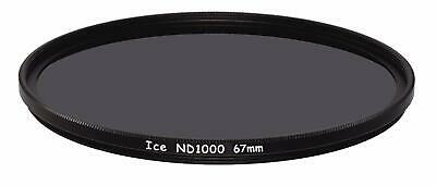 AU32.25 • Buy ICE 67mm ND1000 Filter Neutral Density ND 1000 67 10 Stop Optical Glass