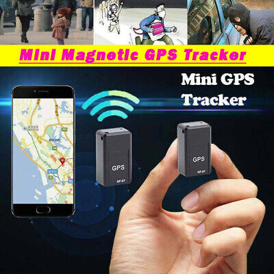 Magnetic Mini GPS Tracker Car Spy GSM GPRS Real Time Tracking Locator Device UK • 7.99£