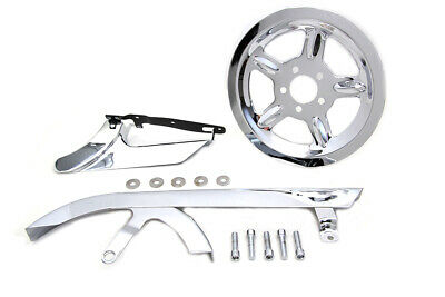 Chrome Belt Guard And Pulley Cover Kit,for Harley Davidson,by V-Twin • 172.65$