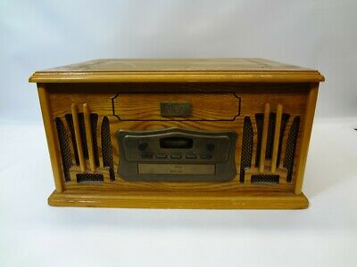 £48.85 • Buy Spirit Of St. Louis All-In-One Vintage Style Record/Cassette Tape/CD Player