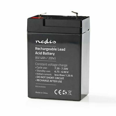AU19.80 • Buy Replacement 6 Volt Sealed Rechargeable Lead Acid Battery - 6V 4Ah
