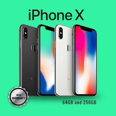 AU679 • Buy Apple IPhone X 64GB 256GB Unlocked Space Grey Or Silver