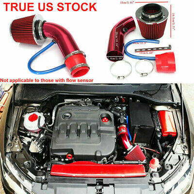 $35.99 • Buy 3 Inch CAR COLD AIR INTAKE FILTER ALUMIMUM INDUCTION KIT PIPE HOSE SYSTEM Set