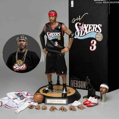 $1499 • Buy Enterbay NBA Basketball Allen Iverson RM-1060 1/6 Scale Figure Doll Limited 500