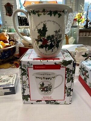 Portmeirion The Holly And The Ivy MEASURING JUG New In Box • 30$