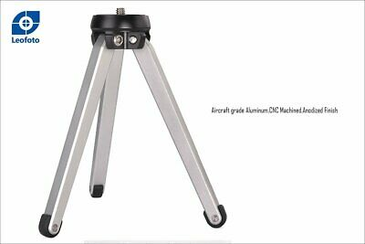 £18.77 • Buy Leofoto MT-01 Table Top Tripod/Pocket Pod Super Stable Ideal For Compact Camera
