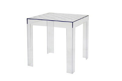 $89.99 • Buy Acrylic End Side Table Clear Transparent Ghost Cube Square New Modern Designer