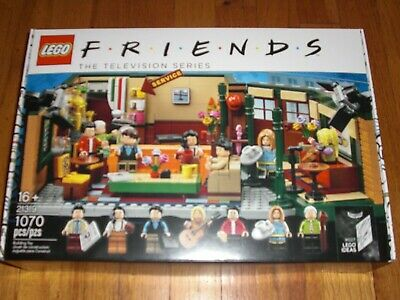 Brand NEW Factory Sealed Lego Friends Central Perk 21319 IN HAND Ready To Ship • 93.88$