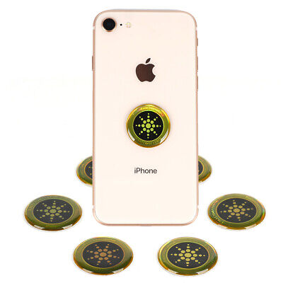 6/12 PC Anti EMF Radiation Protection Sticker Scalar Energy Cell Phone Home • 5.49£