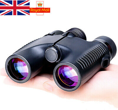 Waterproof Binoculars 10x26 Powerful Zoom Telecopes For Military Hunting Camping • 16.95£