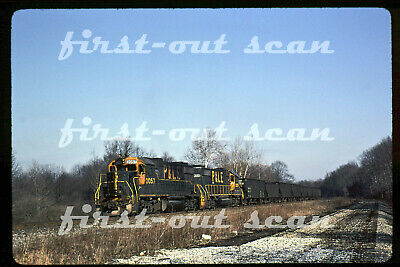 Original Slide - Pittsburgh & Lake Erie P&LE 2057 Action On Hopper Tr Youngst 90 • 7.89$