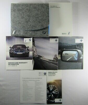 $125 • Buy 2015 BMW I8 Owners Manual