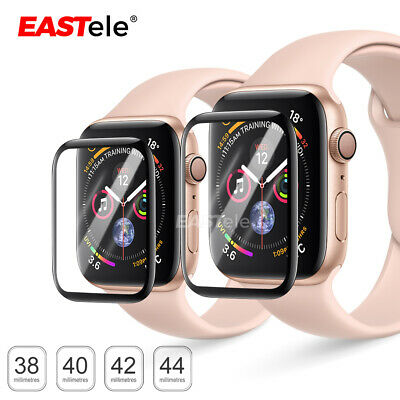AU6.95 • Buy For Apple Watch 6 5 4 3 2 SE 44&40&42&38mm Tempered Glass FULL Screen Protector