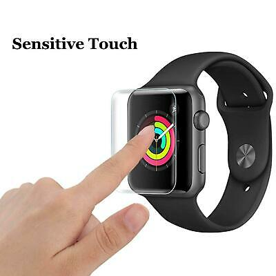 $ CDN5.08 • Buy Series 3D Protector Tempered Watch Glass Screen 44mm 40mm 5 Curved For Apple