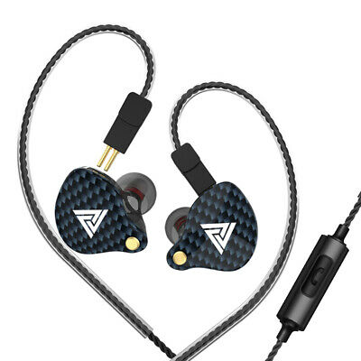 $ CDN21.24 • Buy QKZ VK4 3.5mm Wired Headphones In-ear Sports Headset Moving Coil Music Z2P4