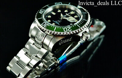 $ CDN140.75 • Buy Invicta Men's 47mm GRAND DIVER Automatic Black Dial Green Bezel SS 300M Watch