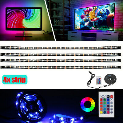 $11.99 • Buy LED TV Backlight - Powered By USB LED Strip Lights For 32 To 60 Inch HDTV