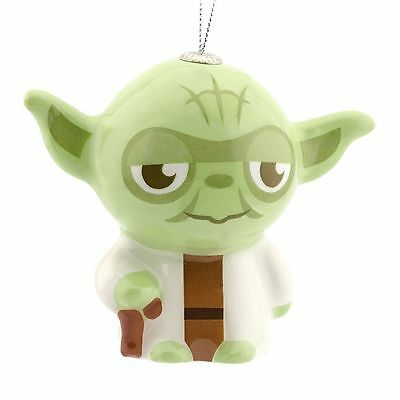 $5.79 • Buy YODA Ornament HALLMARK New Green Decoupage Christmas Gift STAR WARS Baby Tree