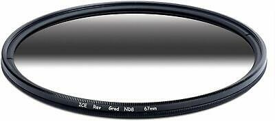 AU37.42 • Buy ICE 67mm Reverse Grad ND8 Sunset Filter Neutral Density ND 67 3 Stop