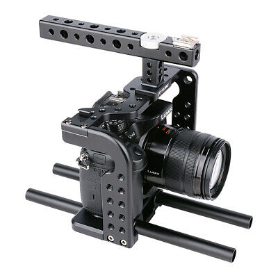 DSLR Camera Video Cage Rig Video Making System Kit Fit For Panasonic GH5 • 51.30£