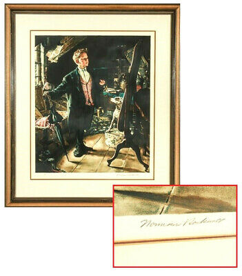 $ CDN3814.37 • Buy Norman Rockwell (american, 1894-1978)  Top Hat And Tails  Signed Artist's Proof