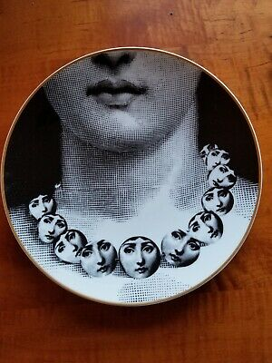 $375 • Buy Rosenthal Fornasetti Limited Edition Plate , Julia Series Plate #16