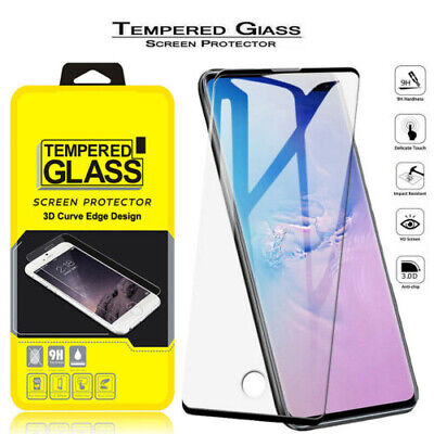$ CDN2.72 • Buy Samsung Galaxy Note10 Pro 9/S8/S9/S10 Full Cover Tempered Glass Screen Protector