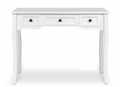 AU155 • Buy Desk Home Office White Nook Table Console Study Cabinet Drawer Storage French