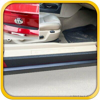 $45.99 • Buy Fits 05-09 Ford Mustang 3pc Door Step Sill Protector Bumper Threshold Shield Pad