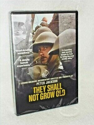 $14.99 • Buy They Shall Not Grow Old (DVD, 2018) Peter Jackson Mark Kermode WW1 War Footage