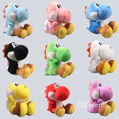 AU8.99 • Buy Super Mario Brothers Yoshi Plush 6  Dolls 9 Colors Available