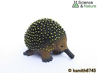 S&N SMALL ECHIDNA Plastic Toy Wild Zoo Australian Animal Spiny Anteater * NEW 💥 • 3.75£