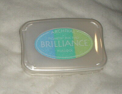 Archival Brilliance Pigment Ink Pad - Peacock - Sealed • 3.85£