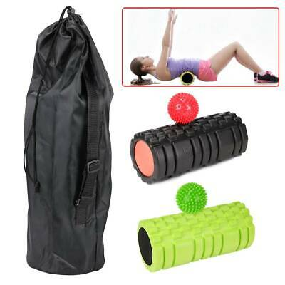 AU19.85 • Buy Foam Muscle Roller Trigger Point Deep Tissue Massage Tool Yoga Massager