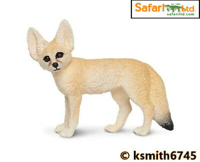 Safari FENNEC FOX Solid Plastic Toy Wild Zoo Animal Dog Predator * NEW 💥 • 5.45£