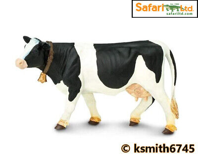 £7.25 • Buy Safari HOLSTEIN COW Solid Plastic Toy Farm Pet Dairy Animal Cattle * NEW *💥