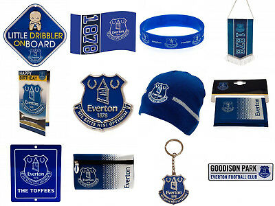 Everton FC Official Football Club Birthday Christmas Gifts Brand New • 8.99£