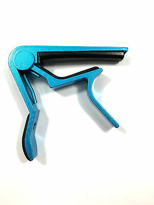 $ CDN6.12 • Buy JMS Guitar Capo   Blue   Trigger Style Capo For Acoustic Or Electric Guitar …
