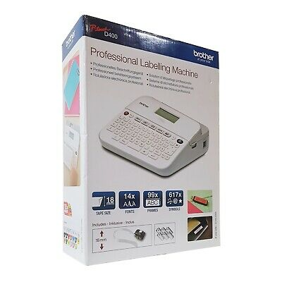 Brother P-Touch D400 Label Printer Professional Labelling Machine • 59.99£