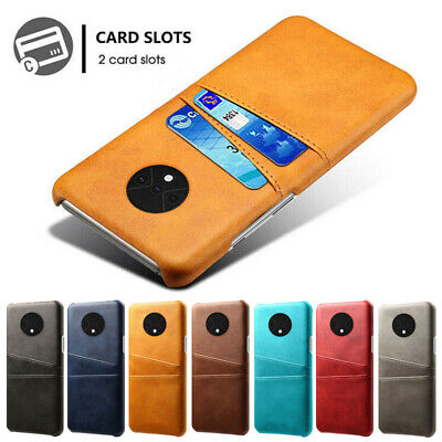 AU7.78 • Buy Leather Card Holder Wallet Back Phone Case Cover For One Plus 9 8 7T Pro 6 5T