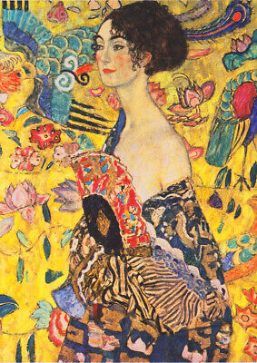 $ CDN31.32 • Buy Gustav Klimt: Lady With A Fan (Detail). Fine Art Print/Poster