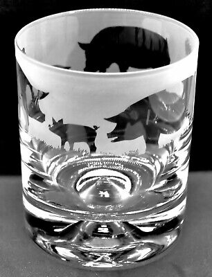 £15.99 • Buy PIG Frieze Boxed 30cl Glass Whisky Tumbler