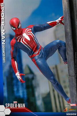 $254.99 • Buy Hot Toys VGM31 PS4 Marvel's Spider-Man Advanced Suit 1/6 Scale Figure In Stock