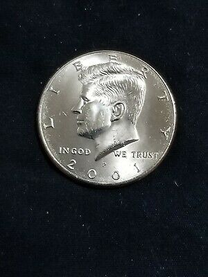 $2.10 • Buy 2001 P President Kennedy Half Dollar Fifty Cent Coin Money U.S. Mint Roll Coins
