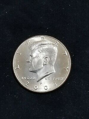 $2.10 • Buy 2003 P President Kennedy Half Dollar Fifty Cent Coin Money U.S. Mint Roll Coins