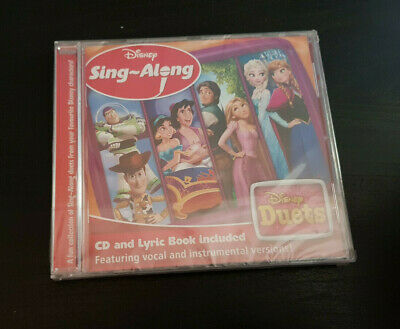 Cd Album - Disney - Sing-along - Disney Duets - New And Sealed  • 1£