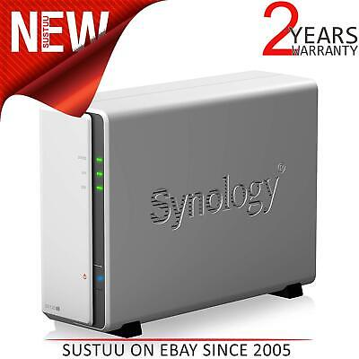 Synology DS120j 2TB 1 Bay NAS Solution|Installed With Western Digital Red Drive • 216.67£