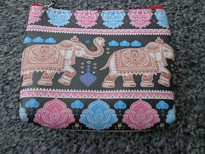 £1.99 • Buy Zipped Purse With Elephant Design , NEW With Tags , Great Gift Idea L@@K