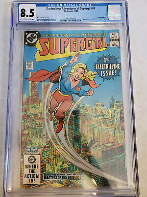 $80 • Buy Supergirl #1 Nm Cgc 8.5 Off-white Pages 💎1982 1st App. He-man Motu Combine Ship